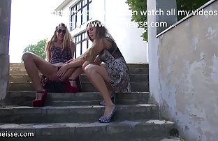 Mature chienne snviolée sur les escaliers et soufflé le tisd par la video amateur et sexe piscine